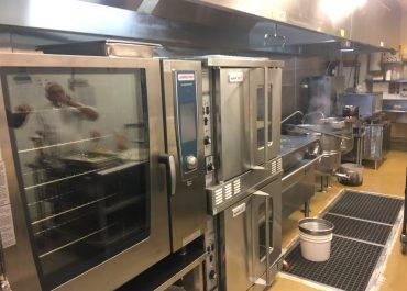Hilton Metrotown Kitchen